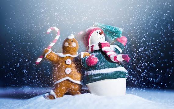 download besplatne Božićne pozadine za desktop 2560x1600 čestitke blagdani Merry Christmas snješko