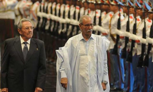 """صحيفة أمريكية: كوبا تصفع """"أمير المؤمنين"""" وتستقبل الرئيس الصحرواي"""
