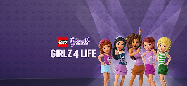 LEGO friends 4 life Blu-Ray giveaway