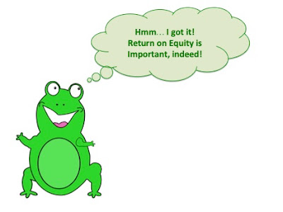 return on equity importance happy frog realises