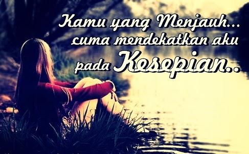 Gambar Foto DP BBM Galau Sedih Kesepian