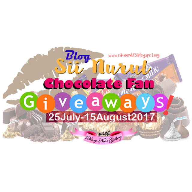 http://ciknurul23.blogspot.my/2017/07/chocolate-fan-giveaways-by-sii-nurul.html