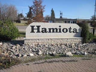 Hamiota's new sign.