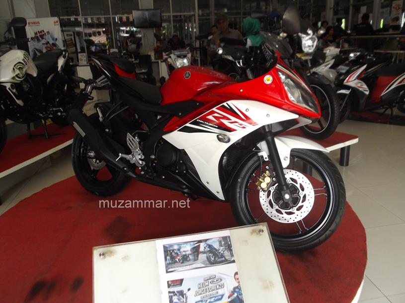 Confirmed . . Yamaha YZF R15 V2 sudah hadir di Medan . . . with photo gallery