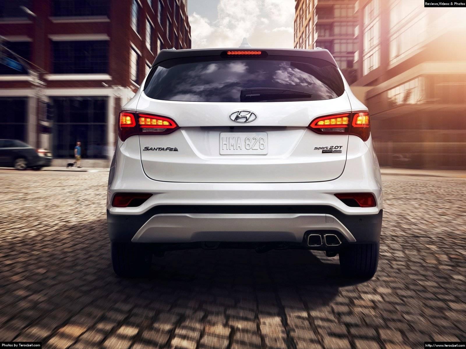 Hình ảnh xe ô tô Hyundai Santa Fe Sport 2017 & nội ngoại thất