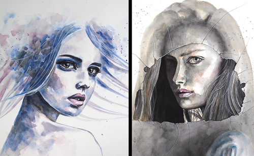 00-Erica-Dal-Maso-Expressing-Emotions-Through-Watercolor-Paintings-www-designstack-co