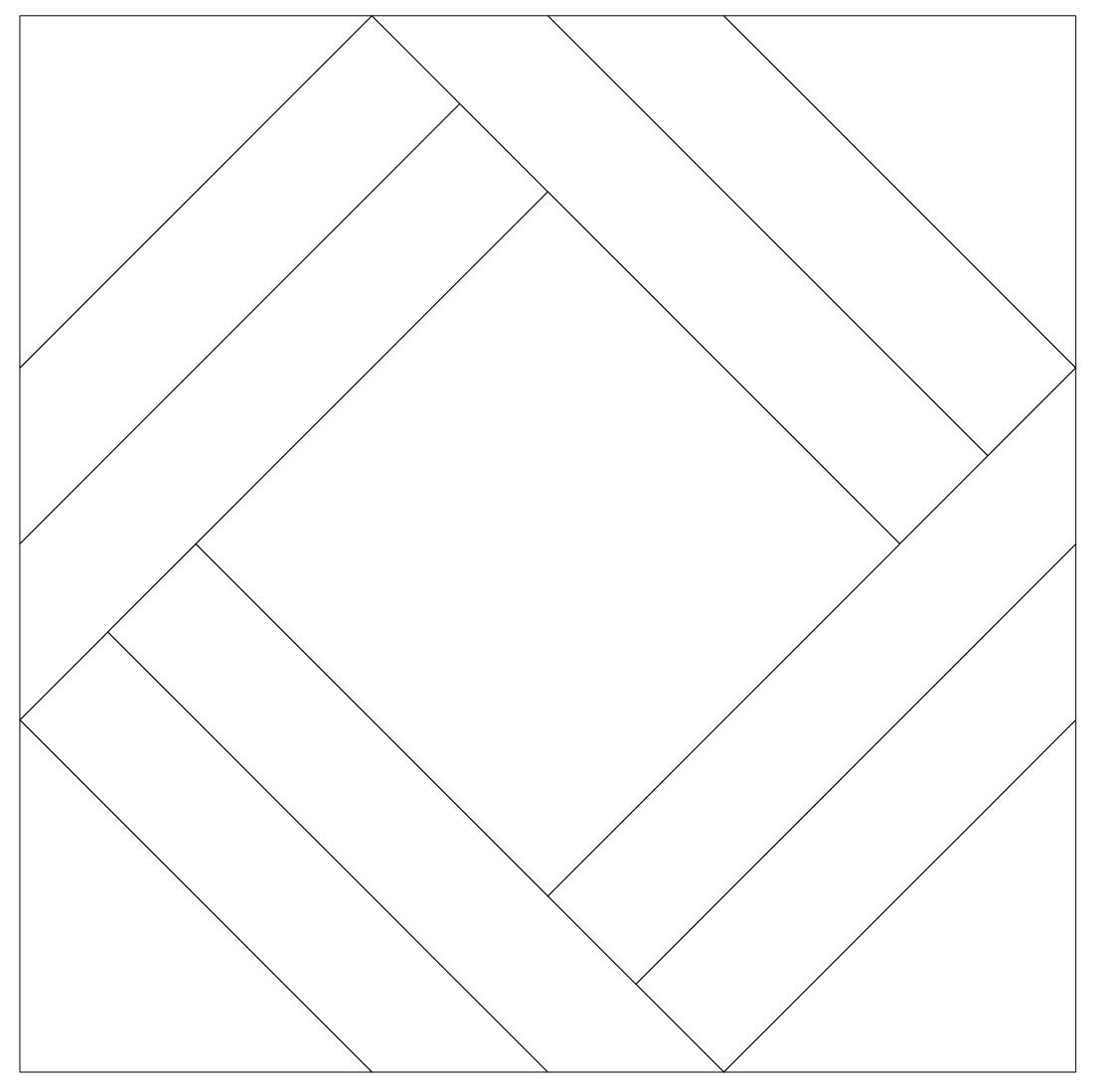 Imaginesque: Quilt Block 16: Templates for EPP, Fabric