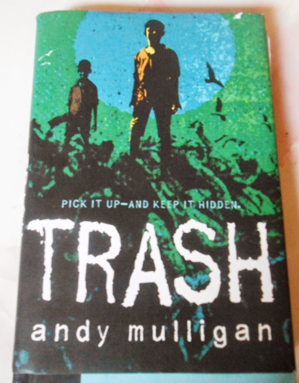 andy mulligans novel trash essay Independent learning trash trash essay in this task, we had in the book trash andy mulligan strongly indicates the divide between the rich and poor in.