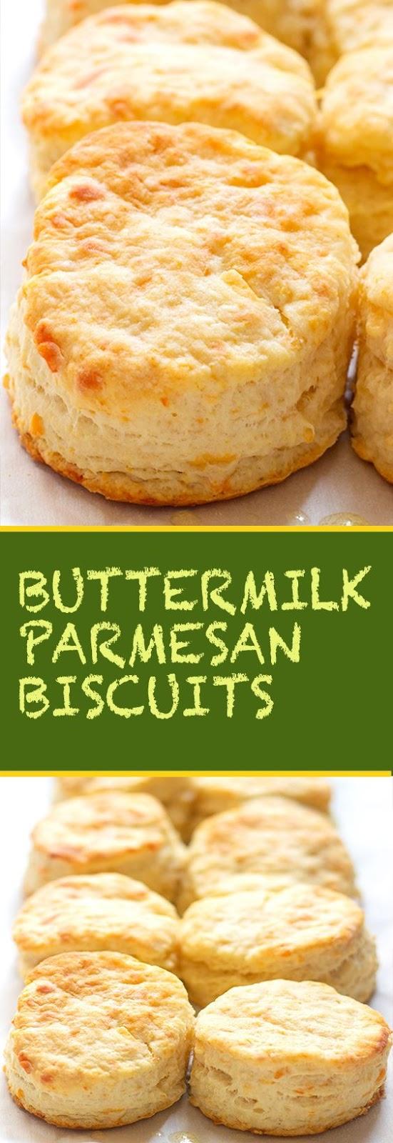 Buttermilk Parmesan Biscuits