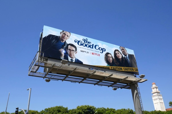 Good Cop series launch billboard