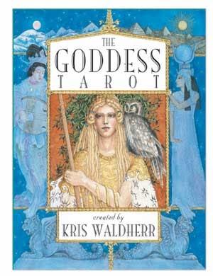 LITTLE WHITE BOOK OF TAROT: REVIEW: THE GODDESS TAROT by Kris Waldherr