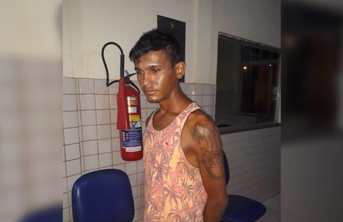 Homem é preso em Itaituba acusado de tentativa de homicídio