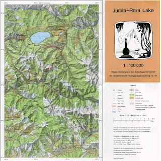 Jumla-Rara Lake - 100 000