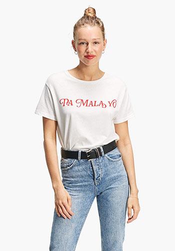camiseta Pa mala yo Stradivarius