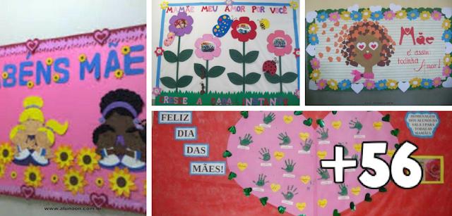 60 Ideias de Murais para o Dia das Mães