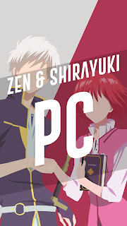 zen wistalia & Shirayuki wallpaper