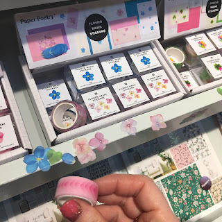 flower washi stickers paper poetry rico designs CHSI