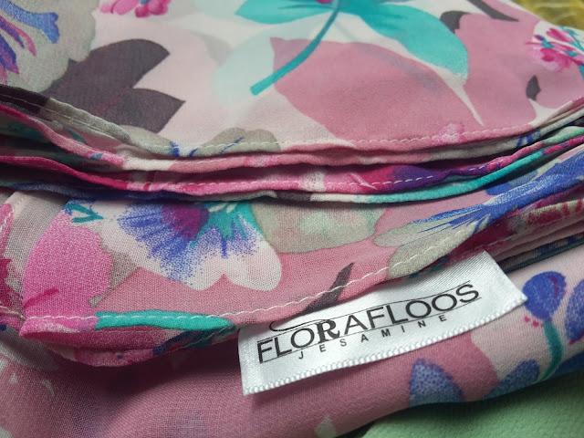 Instant Shawl Flora Floos Selesa,Sejuk dan Murah. Berbaloi !