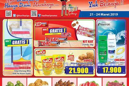 Katalog Promo Hari Hari Swalayan KJSM Weekend 28 - 31 Maret 2019