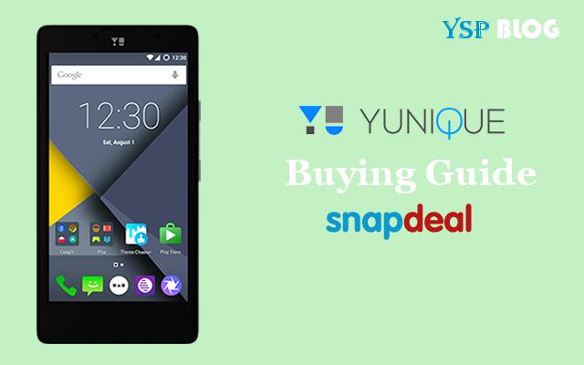 Buying Guide YU Yunique