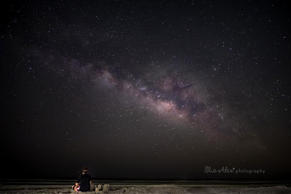 The Milky Way Texas