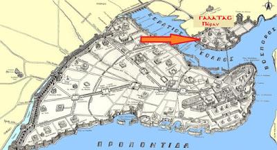 Η συνοικία των Γενουατών - Γαλατάς, Πέραν