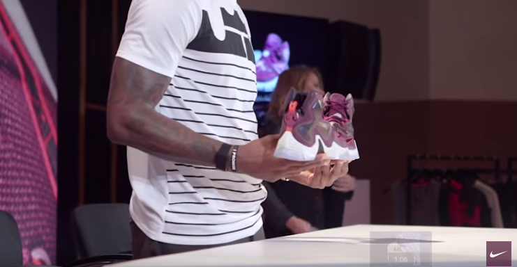 d748aa545a1a Powcast Media Network Group  LeBron 13  New shoes is dope