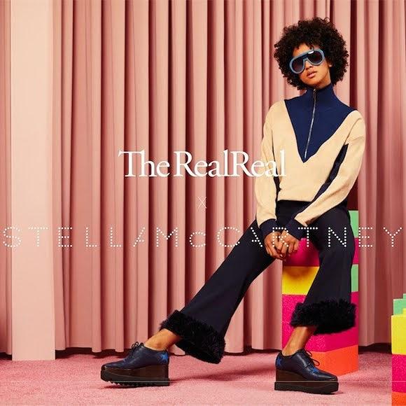 Économie circulaire :  partenariat de Stella McCartney et The RealReal