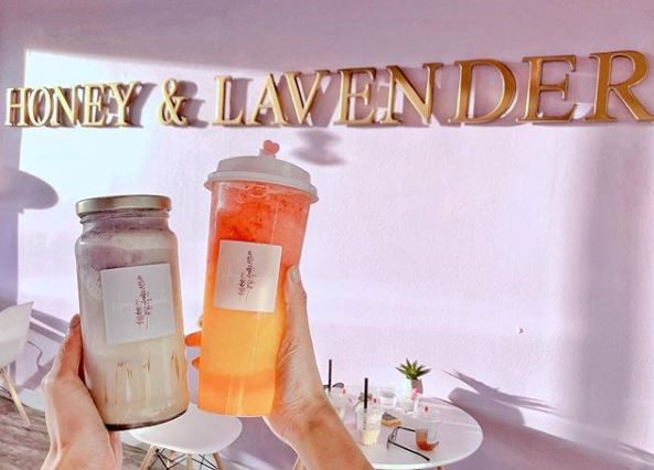 March | Honey and Lavender - New Cute Dessert Shop in Yorba Linda Offers BOGO 50% Off Drinks