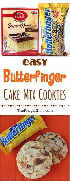 Butterfinger Cookies Recipe!