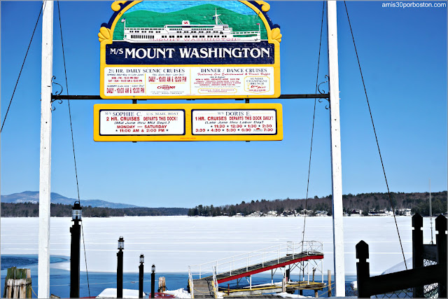 Lago Winnipesaukee en New Hampshire