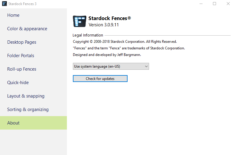 fences stardock crack