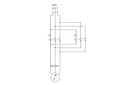 Cara Membuat Program PLC Untuk Motor Forward Reverse