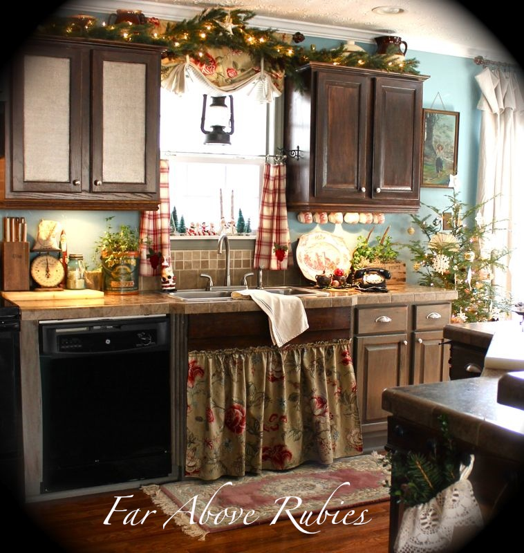 Far Above Rubies Country Christmas Kitchen