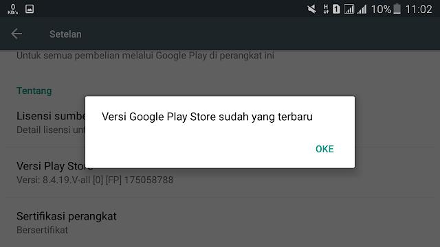 Cara Update Google Play Store Tanpa Download APK Tutorial Update Google Play Store Tanpa Download APK