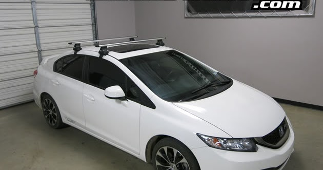 Rack Outfitters Honda Civic Thule Rapid Traverse Silver