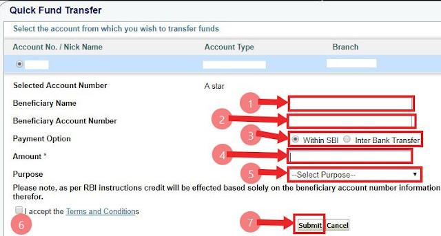 SBI Net Banking से Online Money Transfer कैसे करे