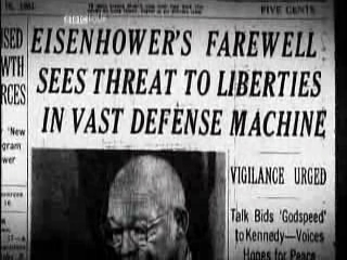 Eisenhowers Farewell Warning of the Military-Industrial Complex, Jan. 17, 1961