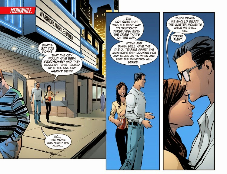 Book Girl: Illustration of the Day: Lois and Clark part #2