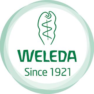 logo de la firma cosmética weleda