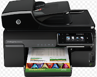 The HP Officejet Pro 8500A e-All-in-One, which delivers impressive maximum prints speeds of 35 pages per minute black and 34 ppm color