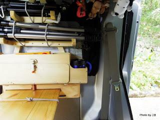 エブリイ荷室ミニ収納庫