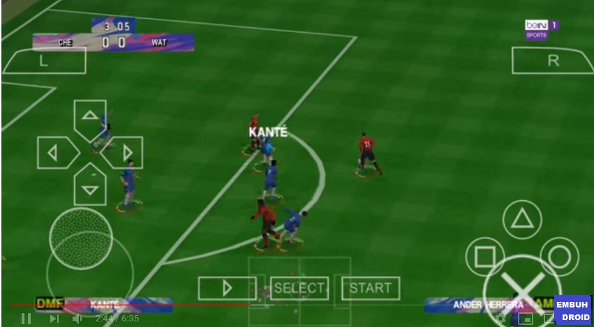 Download PES Mod FIFA 19 Lite PPSSPP ~ Embuh Droid