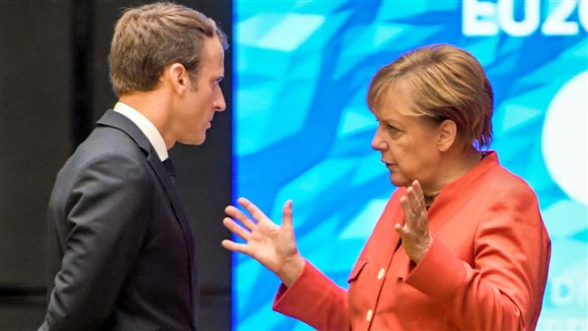 Angela Merkel, Emmanuel Macron outline plans for post-Brexit European Union