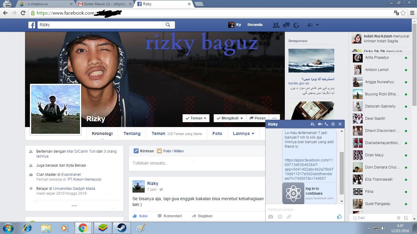 Cara hack akun facebook menggunakan z-shadow!   GO-INDOCOM