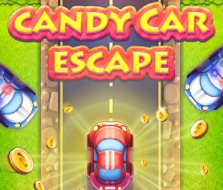 Candy Car Escape Racing Online Games