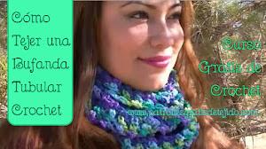 Cómo tejer bufanda tubular... fácil