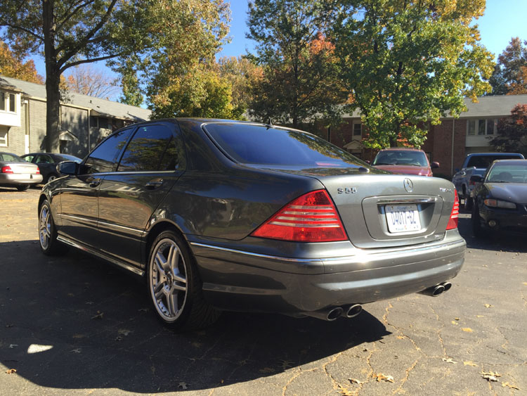 2006 mercedes benz w220 s55 amg benztuning. Black Bedroom Furniture Sets. Home Design Ideas