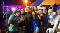 Pré-candidato a prefeito Olivânio e a caravana da esperança são recebidos com festas nas visitas do fim de semana