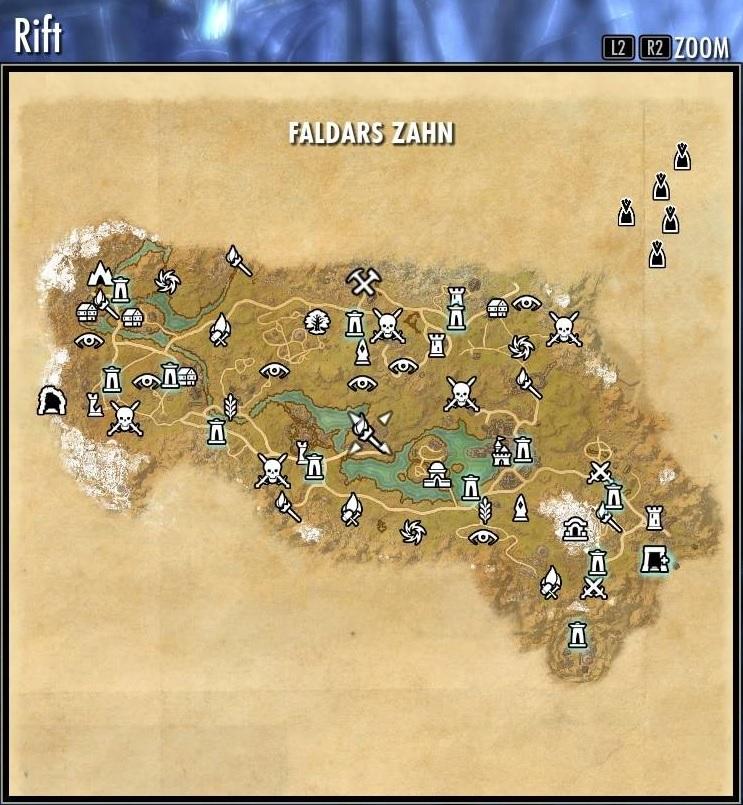 The Elder Scrolls Online  der EbenherzPakt Aufgedeckte Karten EbenherzPakt